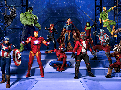 MARVEL UNIVERSE LIVE! Announces New Show Coming to Portland September 22