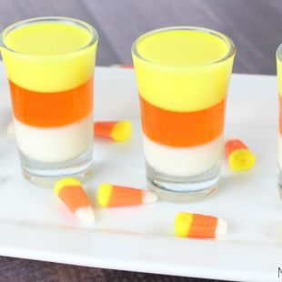 Candy Corn Jello Shots