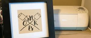 DIY Smores Bar Sign