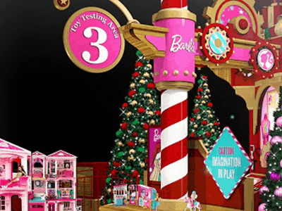 Visit Santa's Toy Factory This Holiday Season