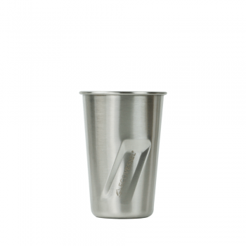 STOUT ecovessel stainless steel pint glass