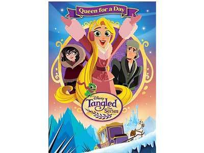 Tangled: The Series Queen for a Day DVD + Giveaway