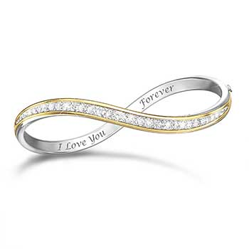 forever love diamond bracelet