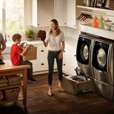 LG Twin Wash System is the Perfect Spring Update