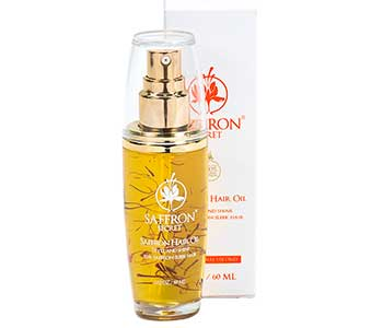 saffron hair oil
