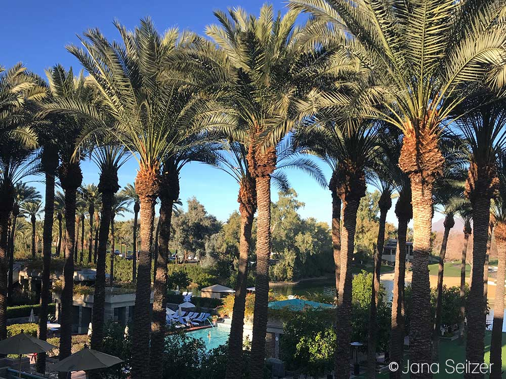 room with a view Girls Getaway at the Hyatt Regency Scottsdale Resort & Spa at Gainey Ranch