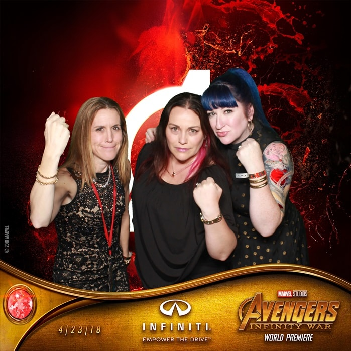 Avengers Infinity AfterParty Photo