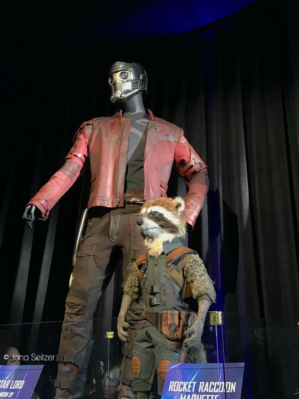 Avengers Infinity War Star Lord Rocket Raccoon Costumes