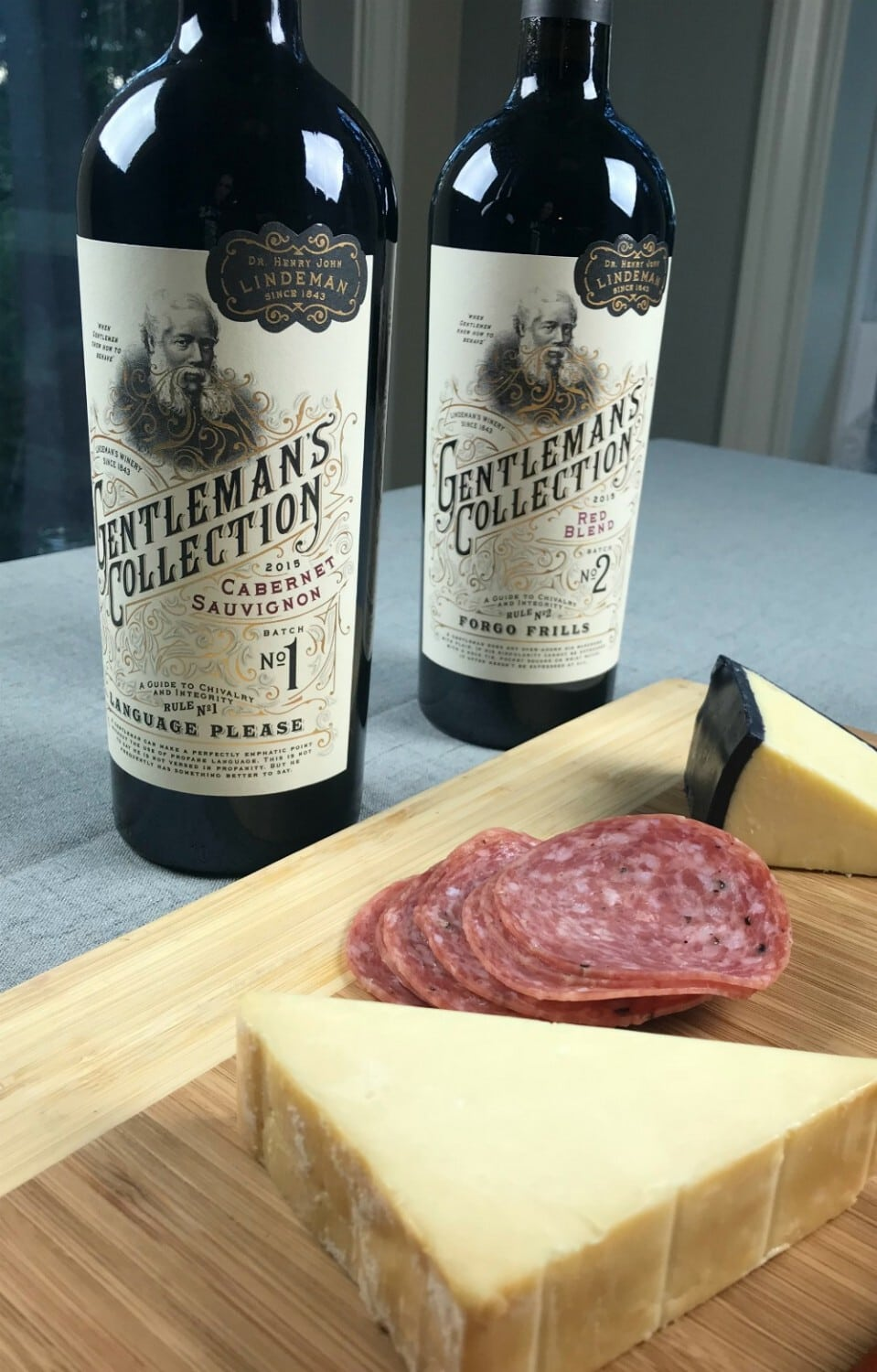 Gentlemans Collection Wine - Living Wine Labels Are AR Fun