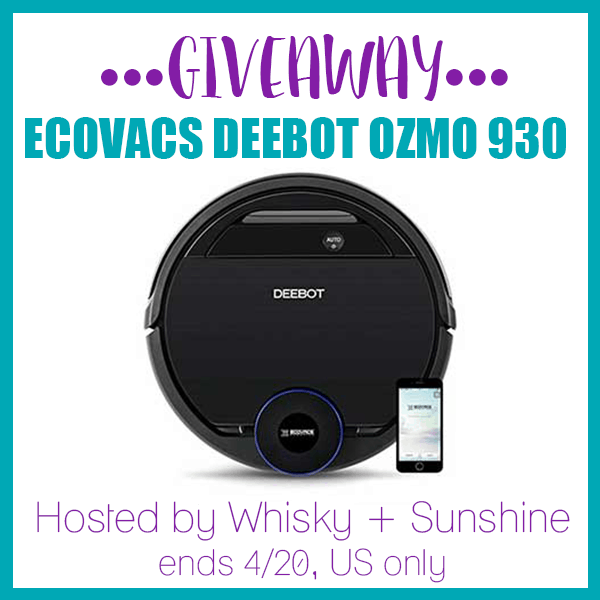 ECOVACS DEEBOT Ozmo 930 Giveaway Button