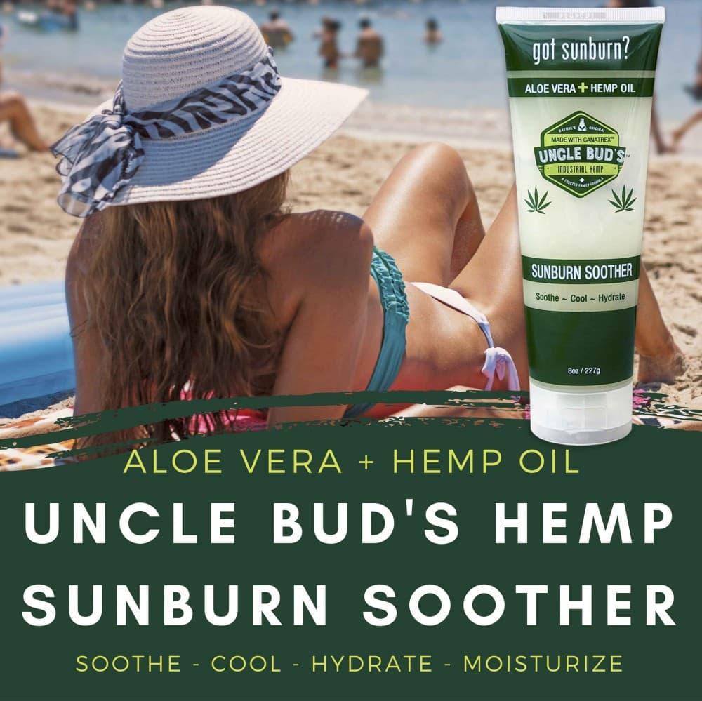 Natural Sunburn Care hemp oil