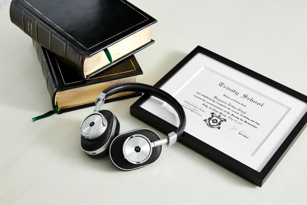 Enjoy Superior Sound Quality with Master & Dynamic Over-the-Ear Wireless Headphones - books