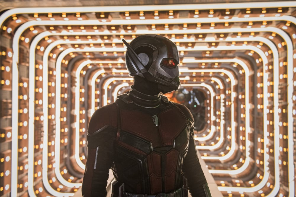 Ant-Man and the Wasp -quantum tunnel