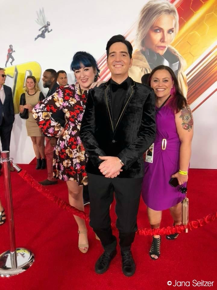 ANt-Man and the Wasp Red Carpet Premiere - David Dastmalchian