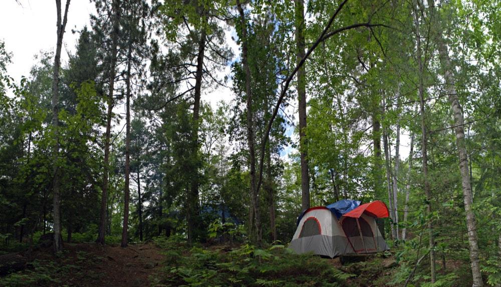 summer outdoor living - camping