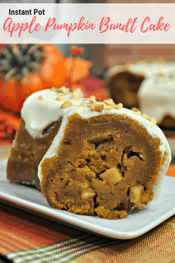 Instant Pot Apple Pumpkin Bundt Cake