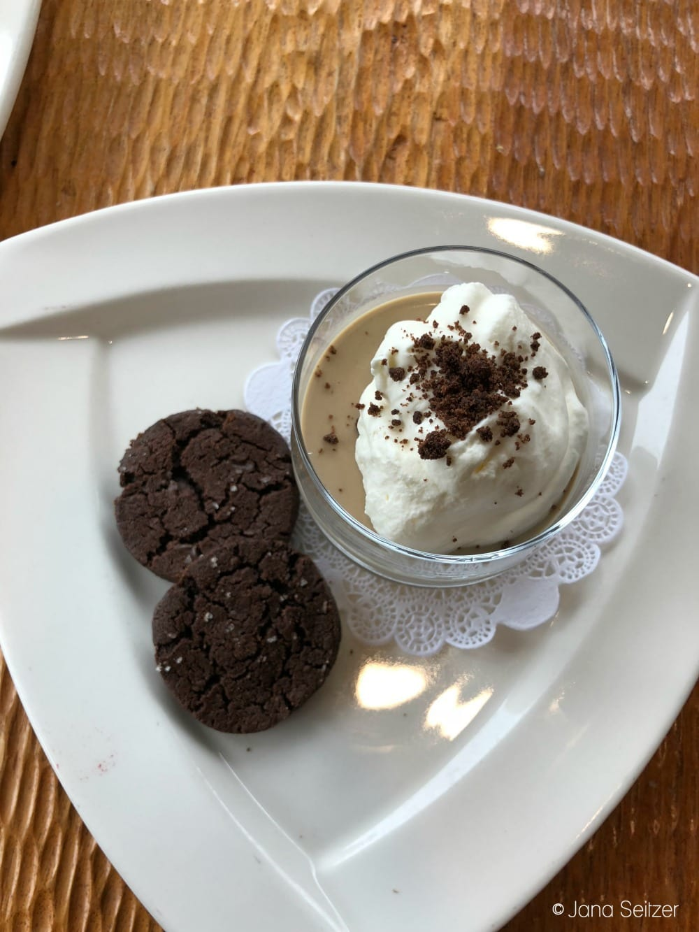 Summer at Salishan Resort on the Oregon Coast - coffee mousse