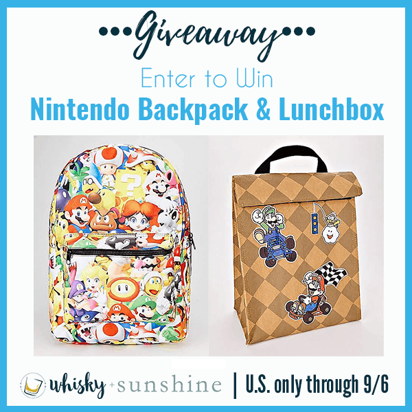 nintendo backpack giveaway