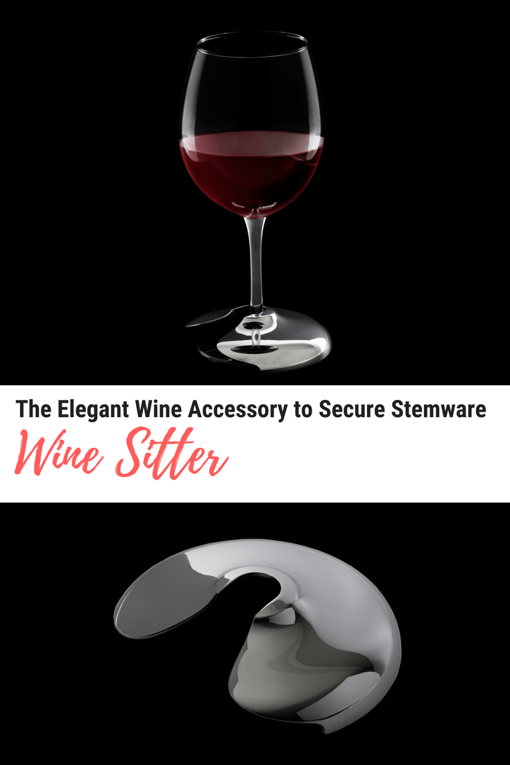 Wine Sitter - The Elegant Wine Accessory to Secure Stemware