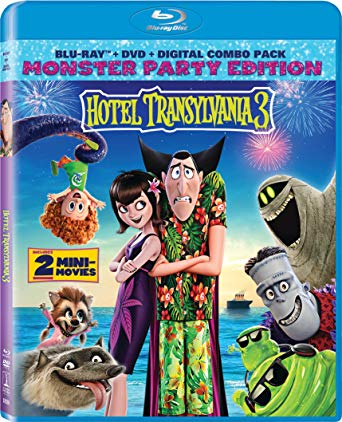 Hotel Transylvania 3 on Blu-ray, DVD, and Digital October 9