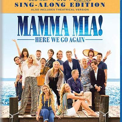 Mamma Mia! Here We Go Again on Blu-Ray Combo Pack