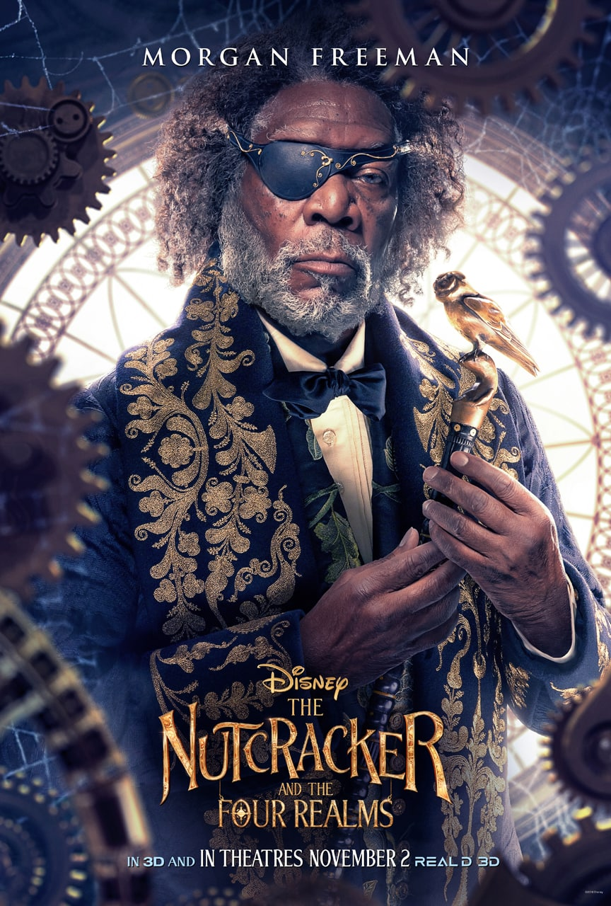 Disney's The Nutcracker and the Four Realms -Drosselmeyer poster