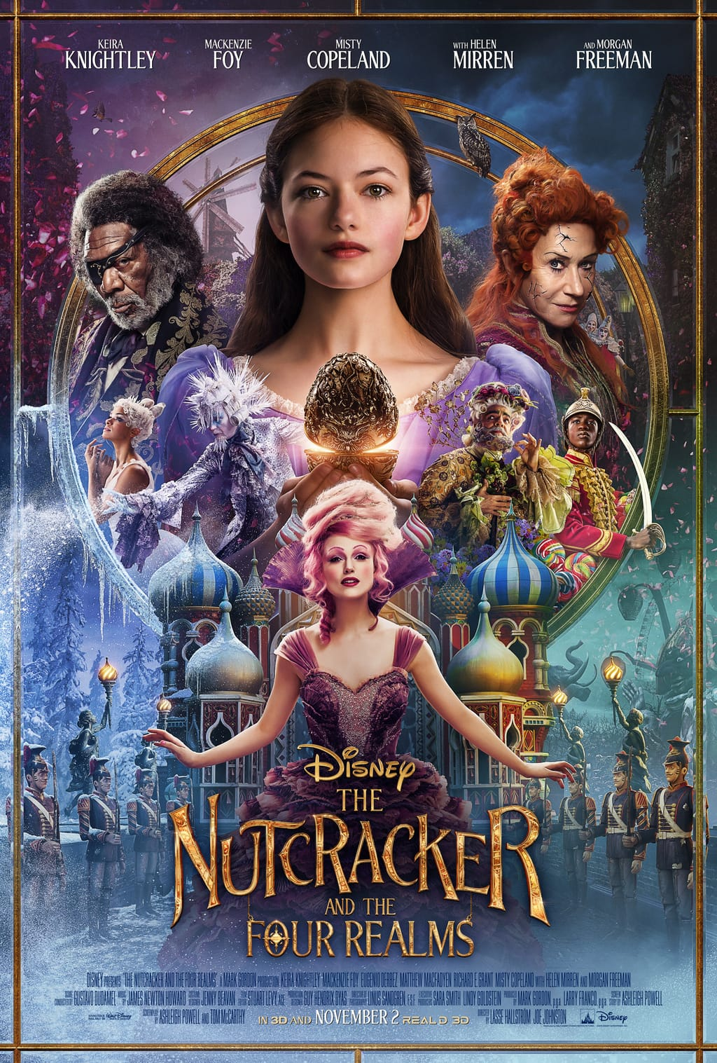 Disney's The Nutcracker and the Four Realms poster