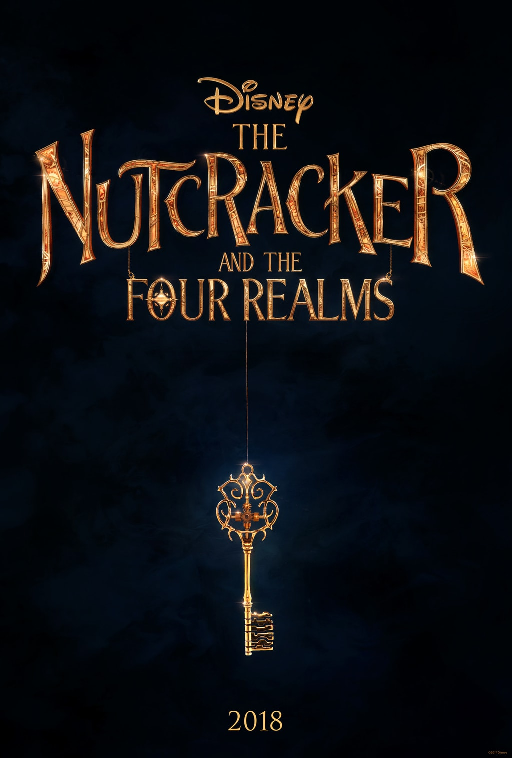 Disney'sTheNutcrackerand the Four Realms poster