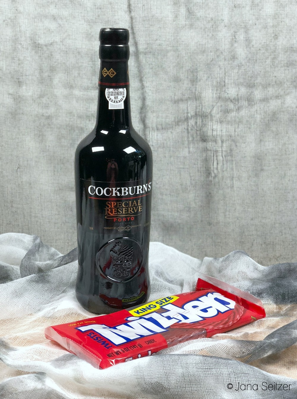 cockburn's special reserve port twizzlers - How to Pair Halloween Candy with Port
