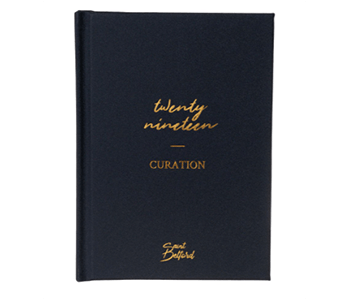 Curation 2019 diary collection