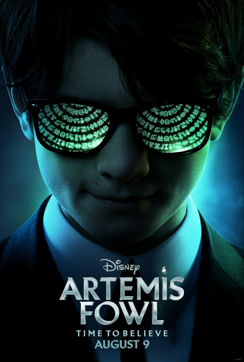 First Look: Disney's ARTEMIS FOWL - Poster
