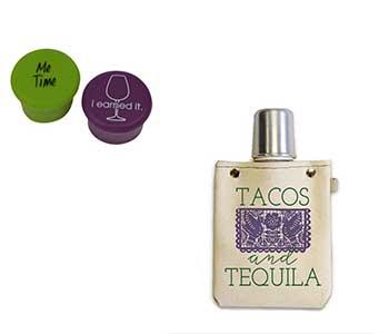 Capabunga-and-canvas-flasks