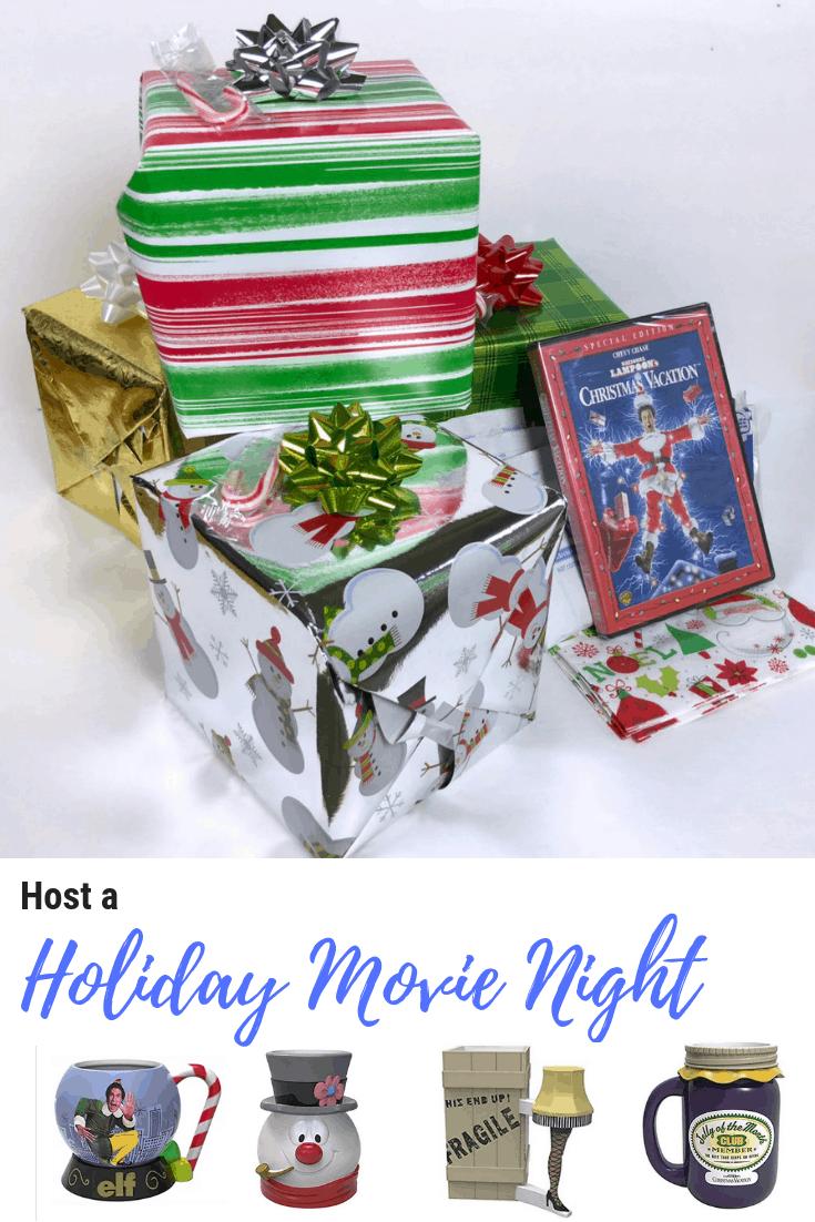 Host a Holiday Movie Night