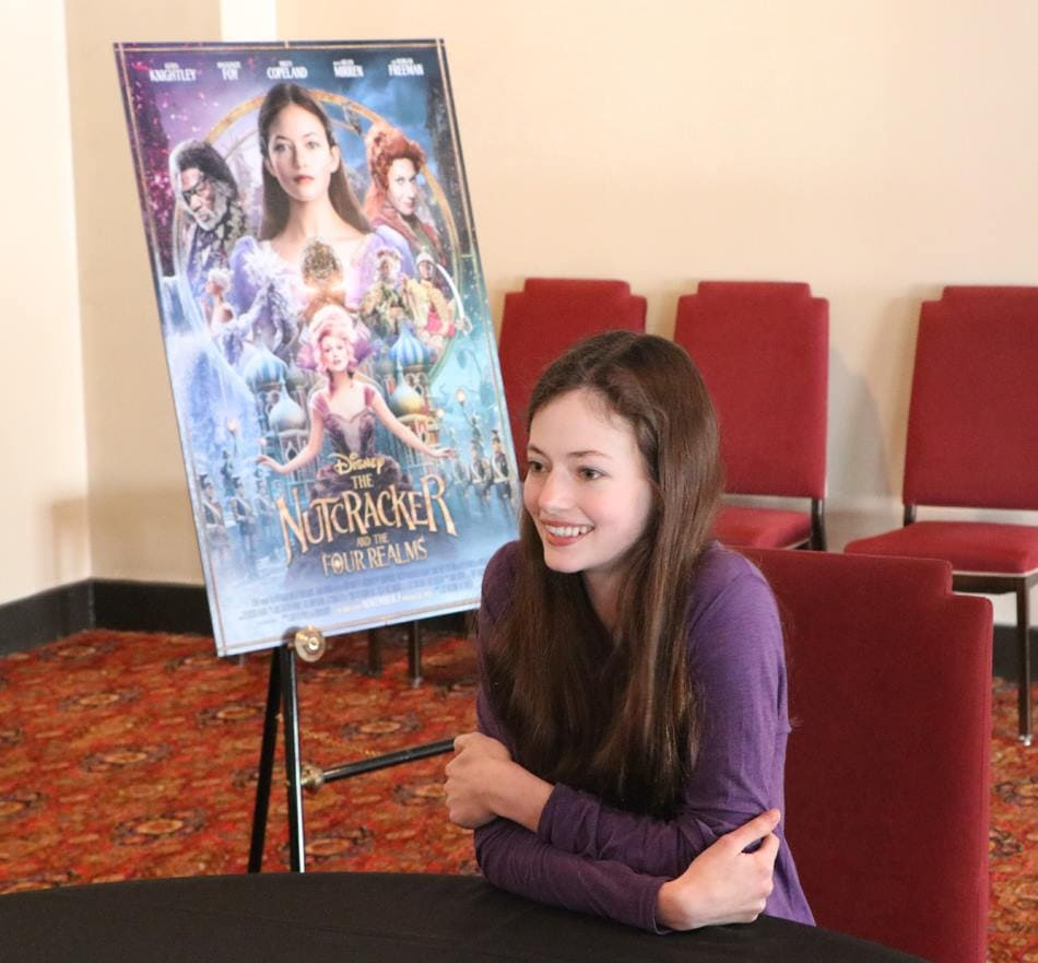 Mackenzie Foy Interview - Disney's Nutcracker and the Four Realms - Mackenzie Foy Interview