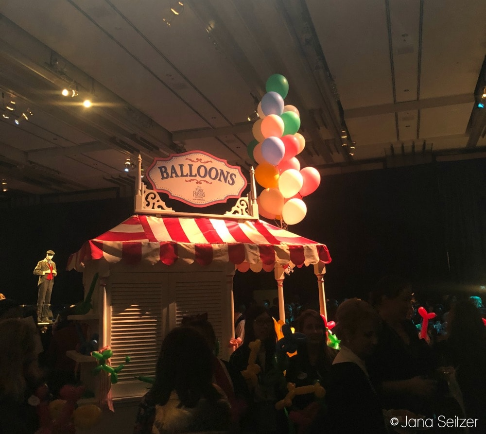 Mary Poppins Returns Red Carpet Premiere after party decor