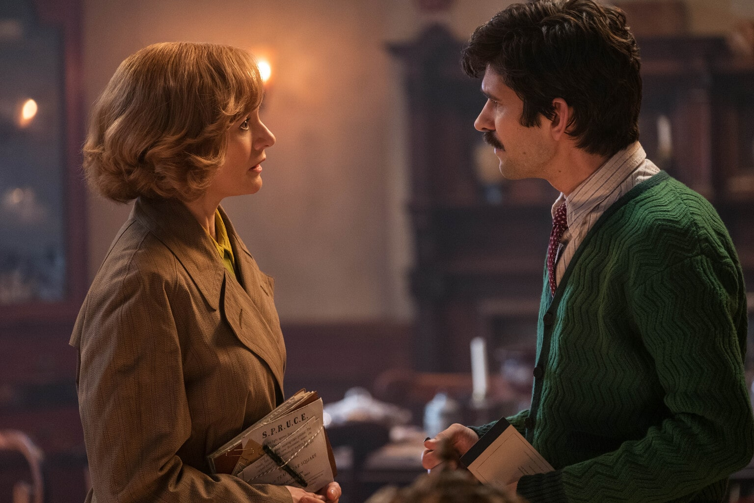 A Chat with Ben Whishaw and Emily Mortimer