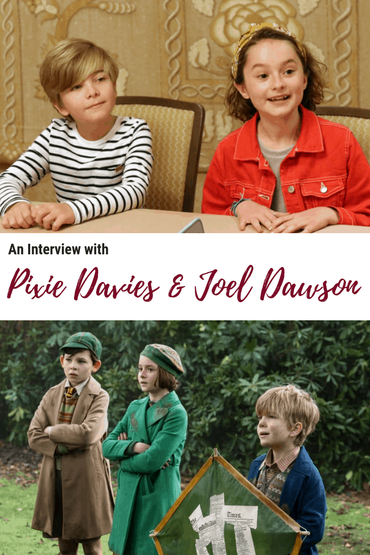 Pixie Davies and Joel Dawson