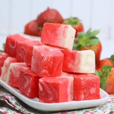 Strawberry SwirlFudge