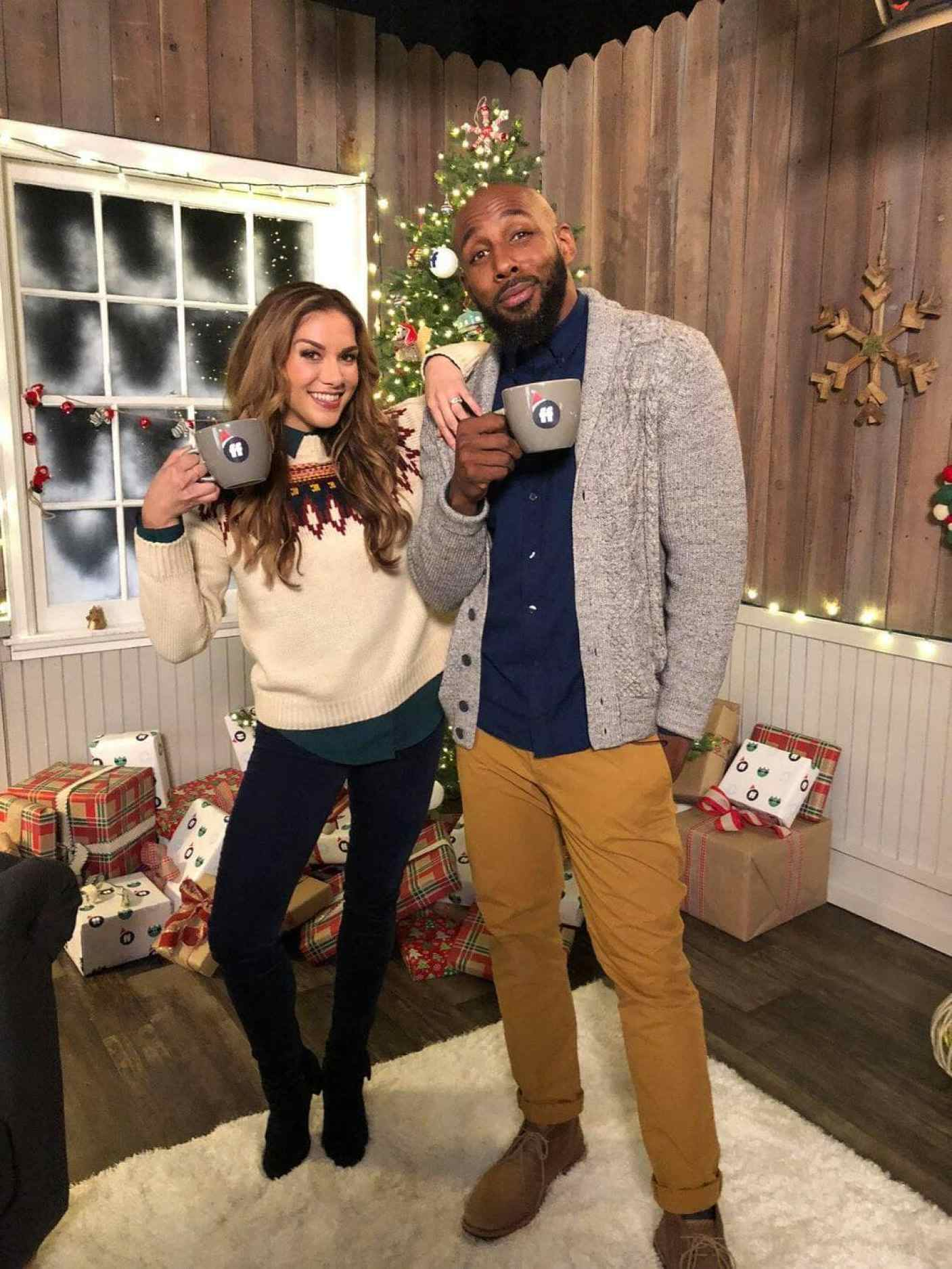 "Chatting with Stephen ""tWitch"" Boss and Allison Holker co-host of Pop Up Santa and DIsney Fairy Tale Weddings"