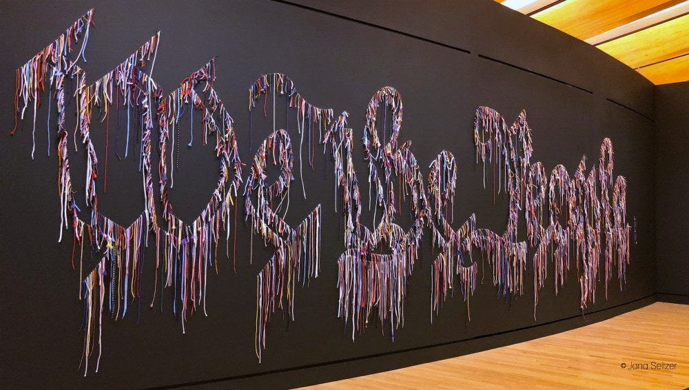Art in Bentonville, Arkansas - Crystal Bridges Museum We the People