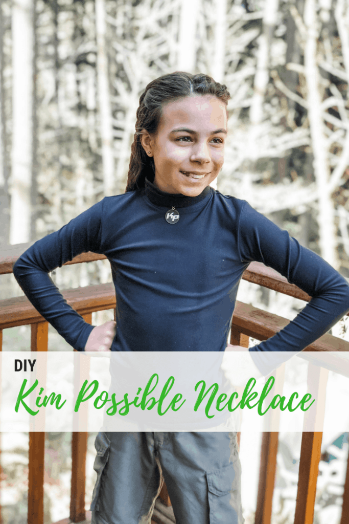 DIY Kim Possible Pendant Necklace