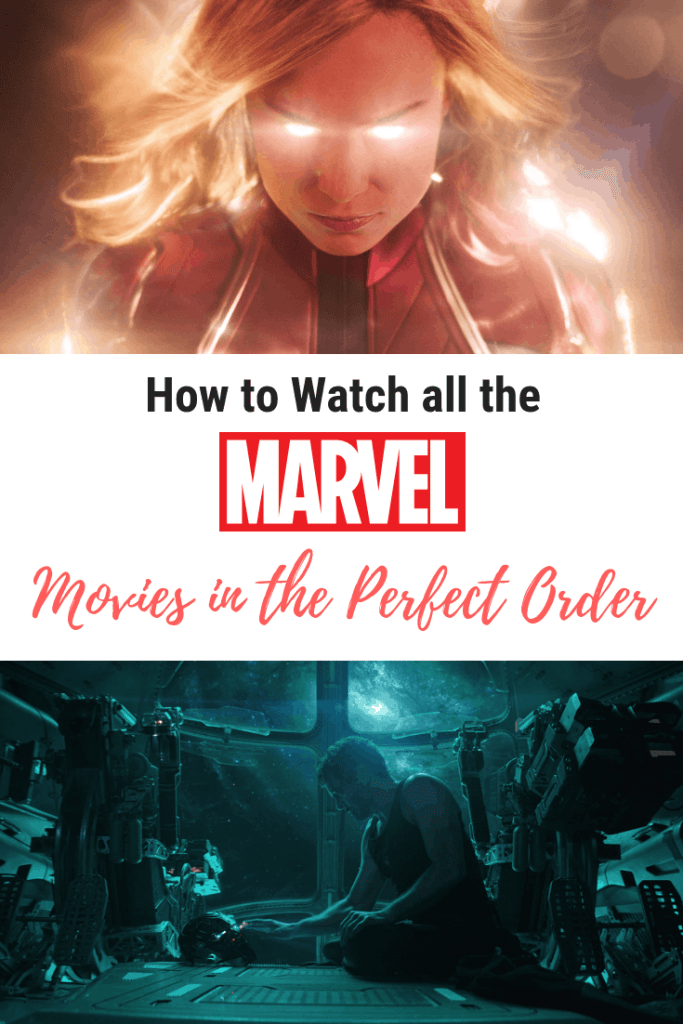 How to Watch Every Marvel Movie in the Perfect Order
