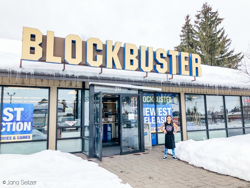 blockbuster store bend oregon