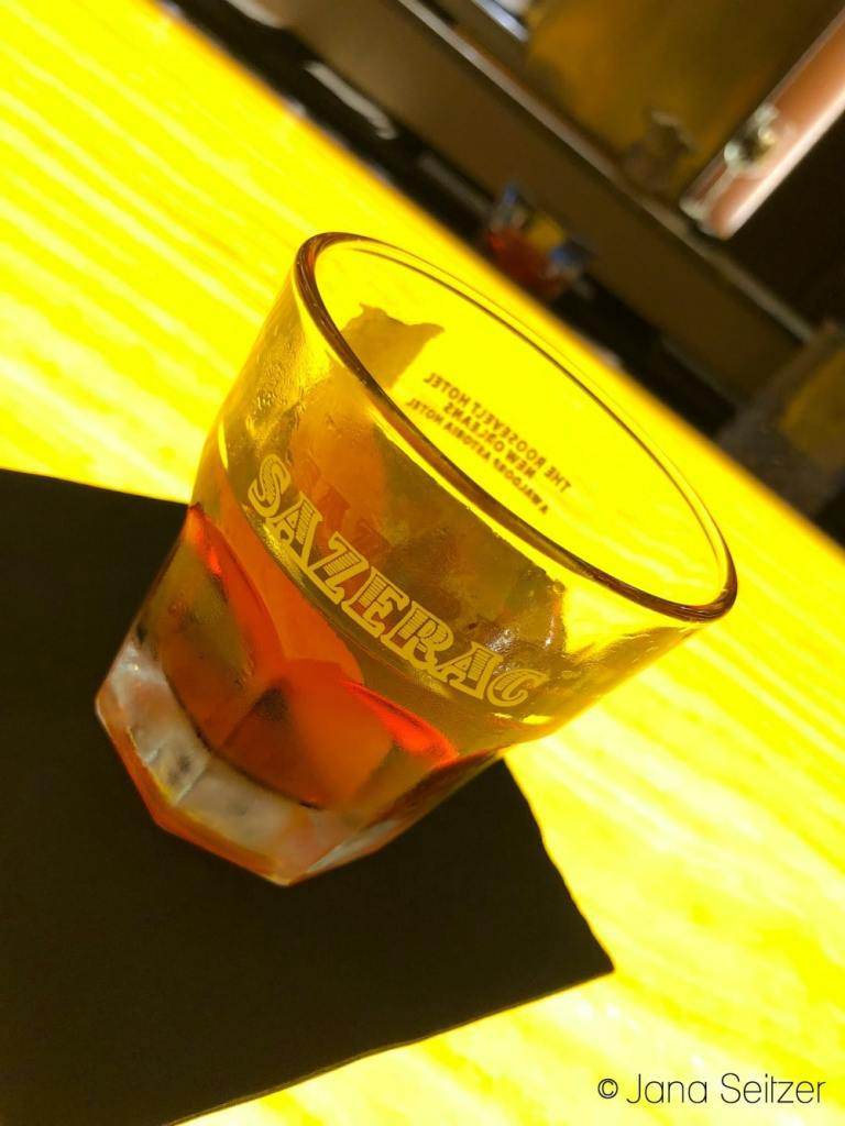 Sazerac at the Sazerac Bar at Hotel Roosevelt in New Orleans
