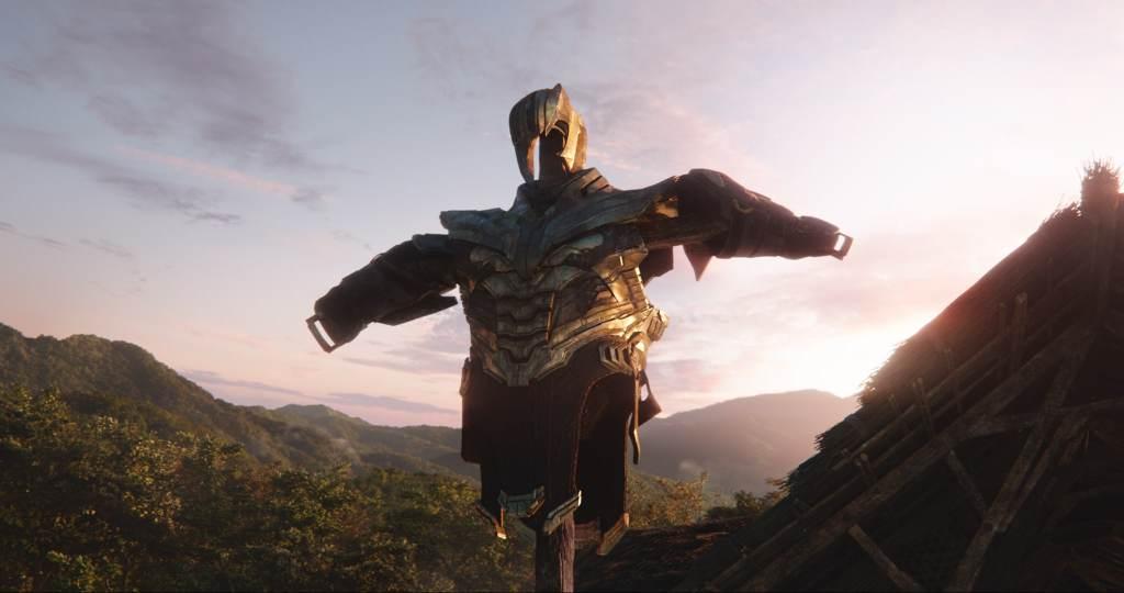 AVENGERS: ENDGAME. Thanos' armor