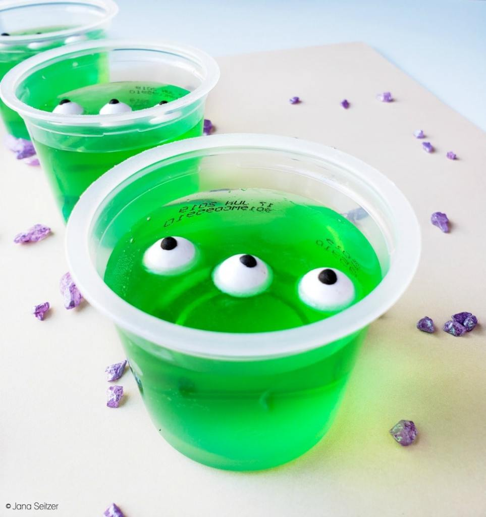 Toy Story Alien Jell-O Cups