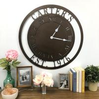 Metal Unlimited Personalized Clock