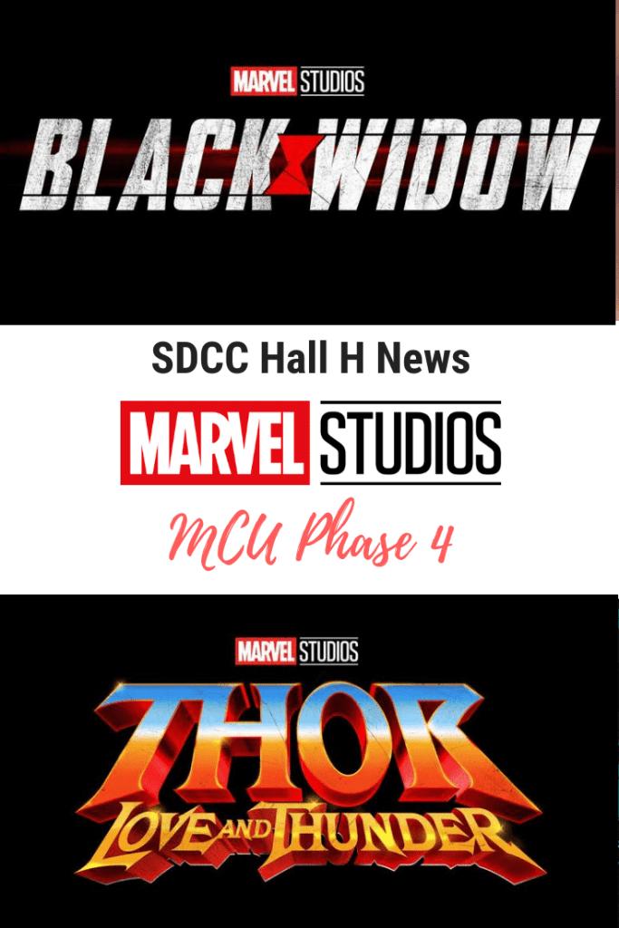 SDCC 2019 Hall H News Marvel Studios Phase 4 Movies