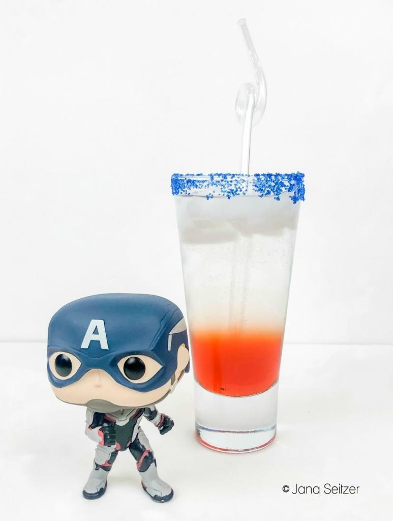 Captain America Mocktail