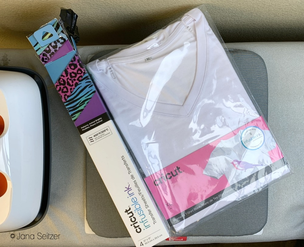 cricut infusible ink and cricut infusible ink blank shirt